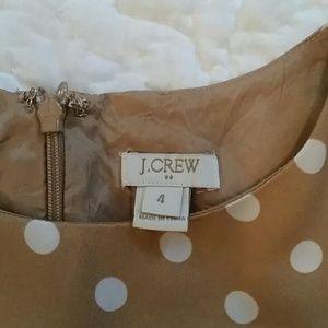 J. Crew Dresses - J. Crew Polka Dot Dress